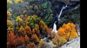 آبشار زیبای شلماش در سردشت