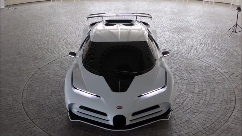 روونمایی از سری جدید بوگاتی Bugatti Centodieci