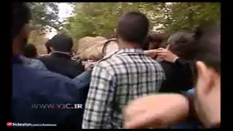 مراسم تشییع جنازه مرحوم  سید کمال تباطبایی