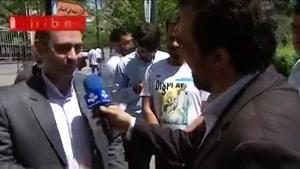 ویدئو گزارش  عید غدیر خم در بازار تهران