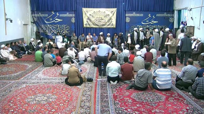 ویدئو جشن عید غدیر خم در آيت الله العظمي حاج سيدصادق حسيني شيرازي