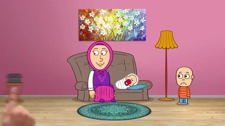 نماشا - مجموعه انیمیشن دردونه ها - مشکلات فرزند دوم (قسمت سوم)