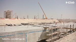 تماشا - از 2016 تا 2019 ساخت ورزشگاه های جام جهانی قطر