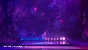 تماشا - اجرای دیدنی نمایشی کار با حلقه زیر آب در آمریکن گات تلنت 2019