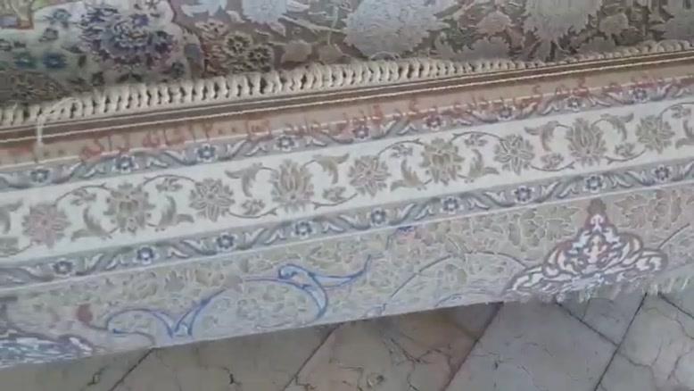 فرش ماشینی ۱۲۰۰شانه دستبافت گونه