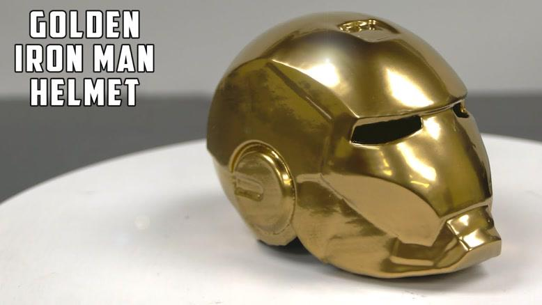 روند جذاب و دیدنی ساخت یک ماسک فلزی کوچک