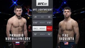 UFC 242: مبارزه حبیب نورماگمدوف با ال لاکوئینتا