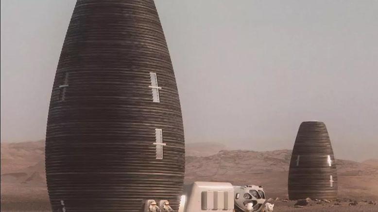 زیستگاه آینده ما در مریخ