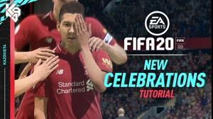 خوشحالی گل های جدید در بازی FIFA 20