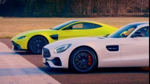 مقایسه Aston Martin V8 در مقابل Merc-AMG GT S