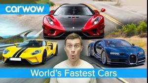 اینها سریع ترین خودروهای جهان هستند