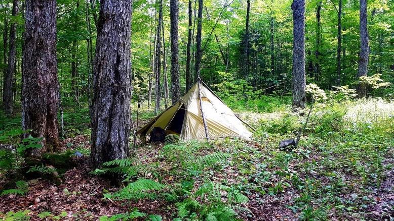 آموزش ساخت کمپ شبانه در کوهستان