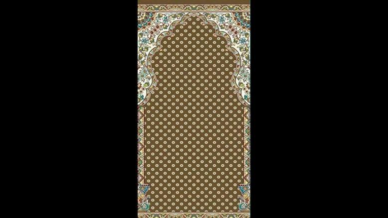 فرش مسجد طرح سبحان