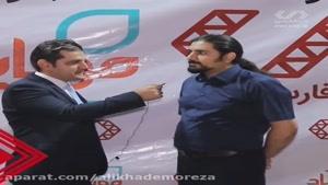 مصاحبه علی خادم الرضا با موبایل آباد در مورد چالشهای های کارآفرینی