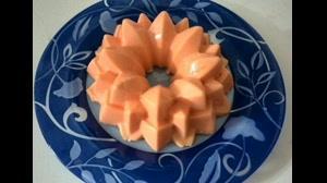 طرز تهیه ژله کرم پرتقال