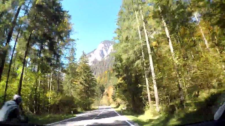 جاده های زیبای اتریش