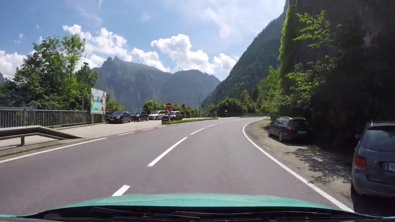 رانندگی در اتریش جاده هالستات