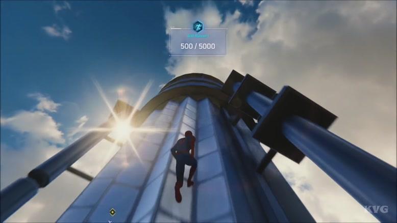 گیم پلی بازی Marvel's Spider-Man  2018