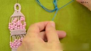 آموزش مکرومه بافی دستبند
