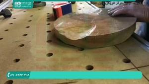 با رزین میز بسازید؟
