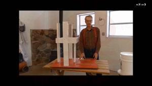 ساخت کندوی عسل با چوب