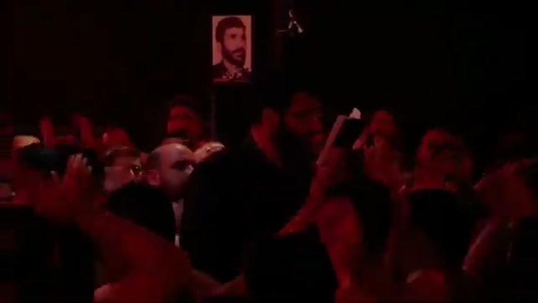 مداحی حاج حسین سیب سرخی شور شب سوم محرم ٩٨