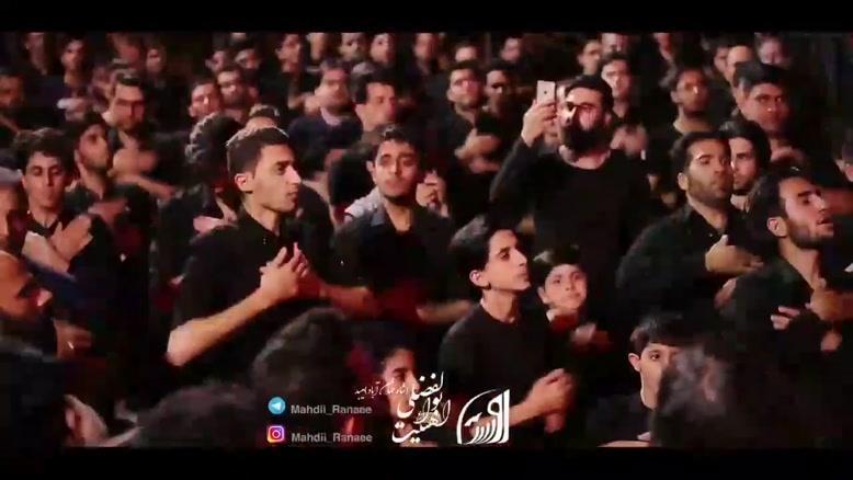 کربلایی مهدی رعنایی سه ضرب شب ششم محرم ۹۸