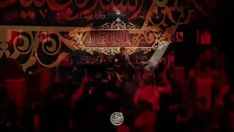 مداحی حاج حسین سیب سرخی روضه خوانی شب سوم محرم ٩٨