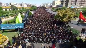 عزاداری روز عاشورا محرم 98 در مشهد
