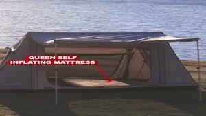 خرید چادر مسافرتی سایبان دار