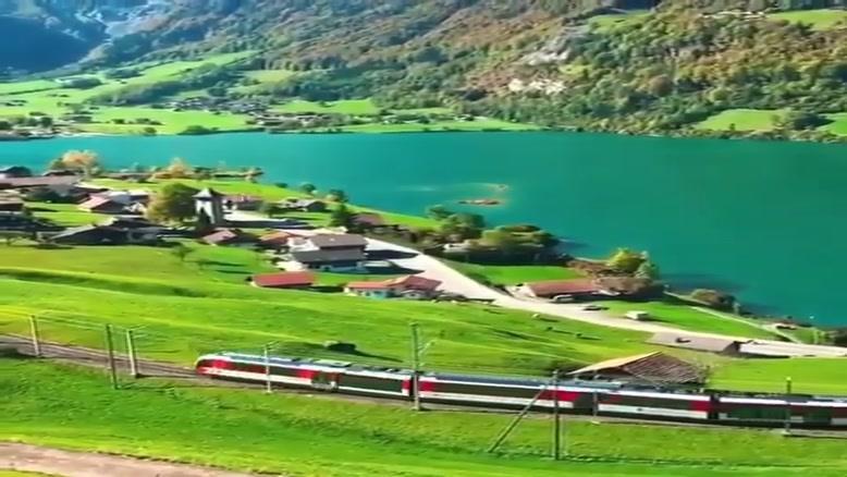 قطارهای سوییس