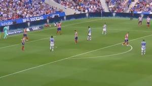 خلاصه بازی  اتلتیکو مادرید  و  رئال سوسیداد- لالیگا اسپانیا