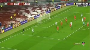 خلاصه بازی پرتغال و صربستان - مقدماتی یورو ۲۰۲۰