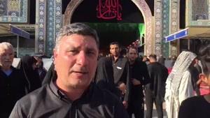 حادثه در باب الرجاء حرم مطهر امام حسین بر اثر ازدحام جمعیت