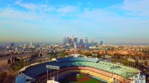 فیلم  از طبیعت زیبا  و  آرام بخش لوس آنجلس