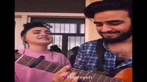 اجرای آهنگ جانم باش آرون افشار توسط خواننده ترکیه ای