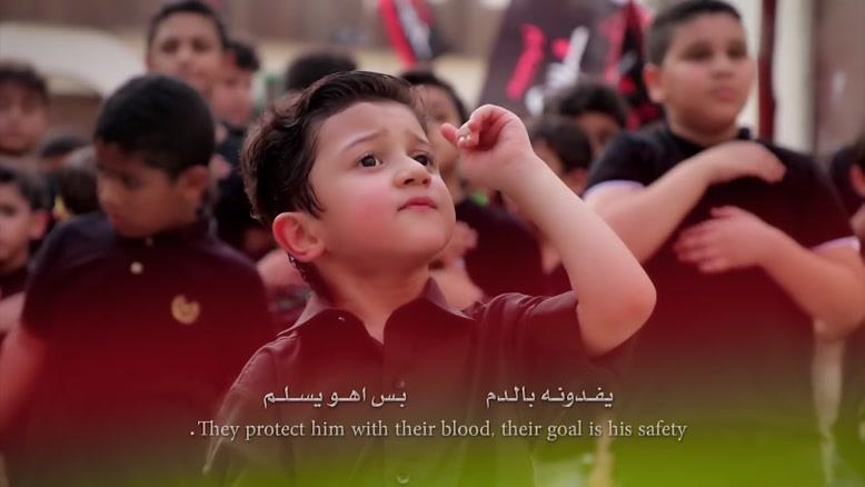 موكب الأطفال مع الطفل سلمان الحلواجي - مظلوم يا حسين