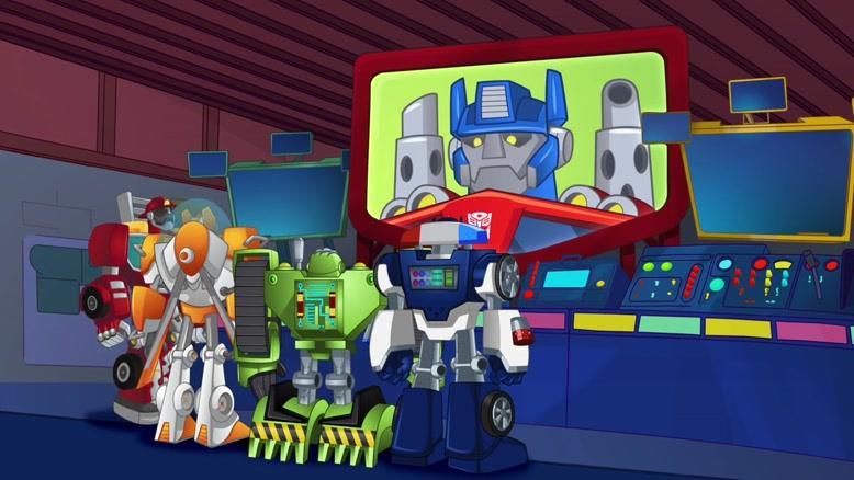 انیمیشن سریالی ترانسفورماتور نجات ربات ها فصل ۱ قسمت دو