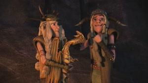 انیمیشن اژدها های دریم ورکس فصل 8  قسمت هفت