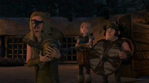 انیمیشن اژدها های دریم ورکس فصل 7  قسمت نه