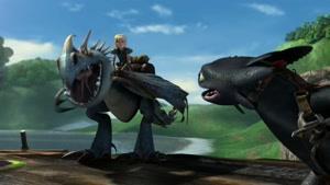 انیمیشن اژدها های دریم ورکس فصل 7  قسمت دوازده