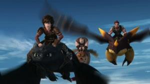انیمیشن اژدها های دریم ورکس فصل 7  قسمت سیزده