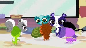 انیمیشن فروشگاه کوچک حیوانات فصل 1 قسمت هفده