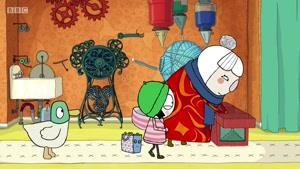 انیمیشن سارا و اردک فصل 3 قسمت سی وهفت