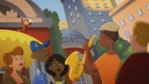 انیمیشن جرج کنجکاو: میمون سلطنتی