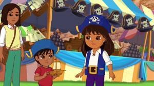 انیمیشن دورا و دوستان در شهر قسمت دو