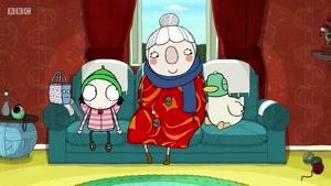 انیمیشن سارا و اردک فصل 3 قسمت بیست و پنج