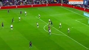 عملکرد پدیده بارسلونا در دیدار برابر والنسیا