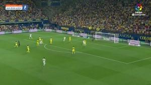 خلاصه بازی ویارئال 2-2 رئال مادرید