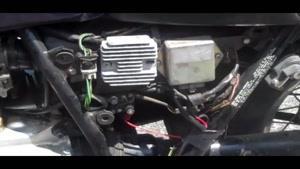 تعمیر مشکل شارژ نشدن باتری موتورسیکلت